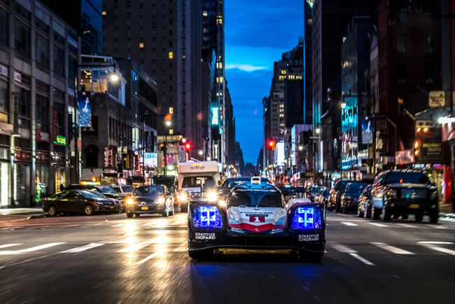 Porsche 919 Tribute Tour : direction New-York City