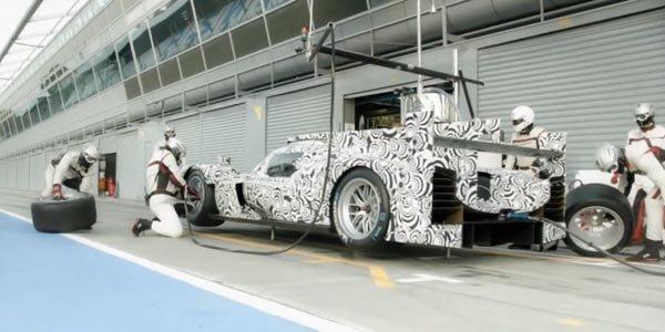L'art de l'arrêt au stand par Porsche