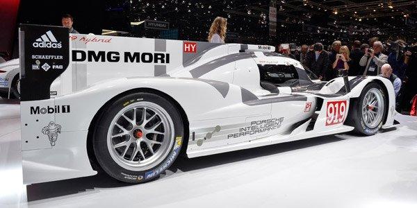 Genève 2014 : Porsche 919 Hybrid