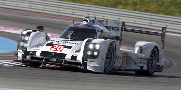WEC : Porsche Team en essais au Ricard
