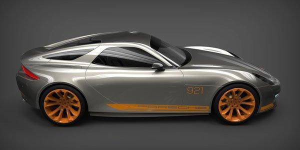 Porsche 921 Vision : la 928 en filigrane
