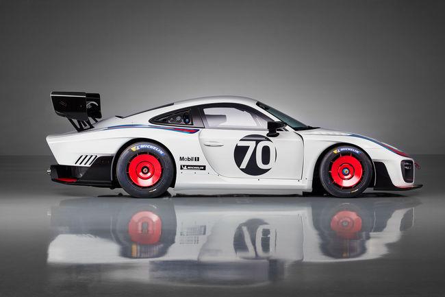 La Porsche 935 2018 en action à Laguna Seca