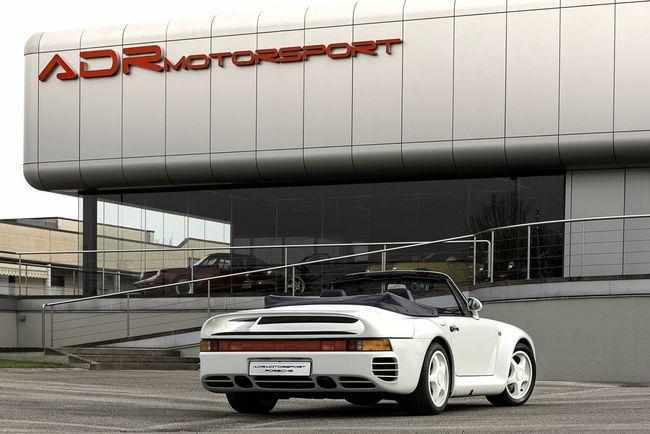 A vendre : rare Porsche 959 speedster