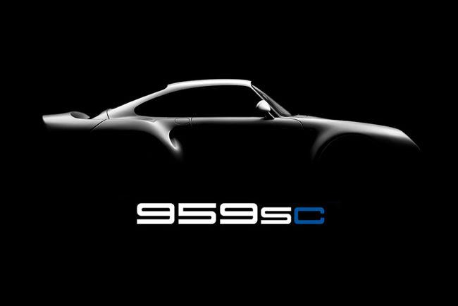 Porsche 959SC par Canepa Design