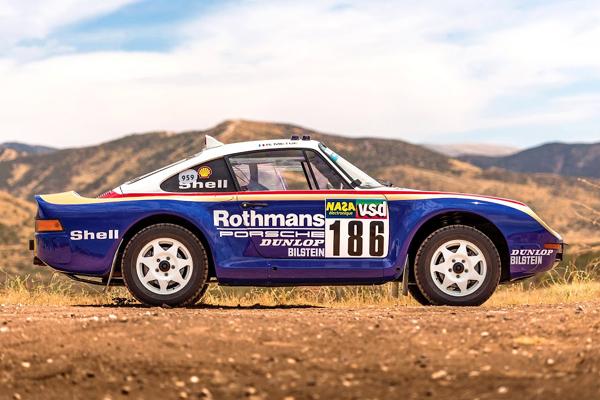 La première Porsche 959 Paris-Dakar aux enchères