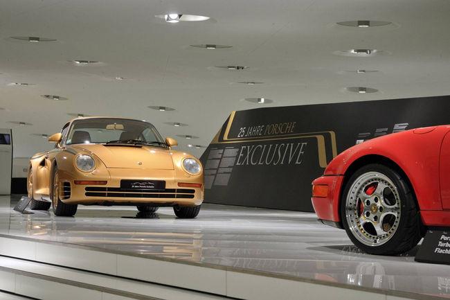 Une 959 spéciale au Porsche Museum