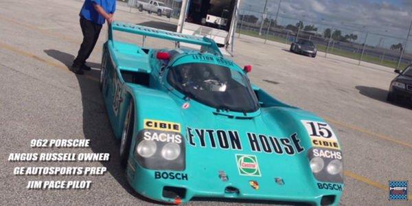 Embarquez dans la Porsche 962 Leyton House à Daytona