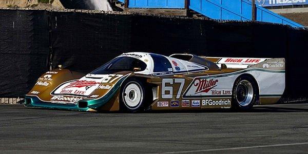 Une illustre Porsche 962 aux enchères