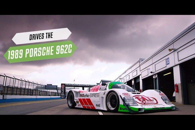 Embarquez avec Andrew Jordan en Porsche 962C