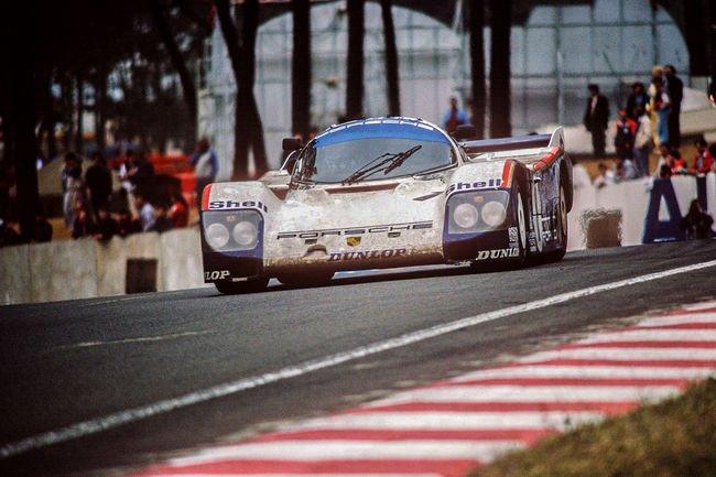 Le Mans Classic : Romain Dumas sur une Porsche 962C