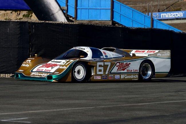 Une Porsche 962 aux enchères Mecum Auctions