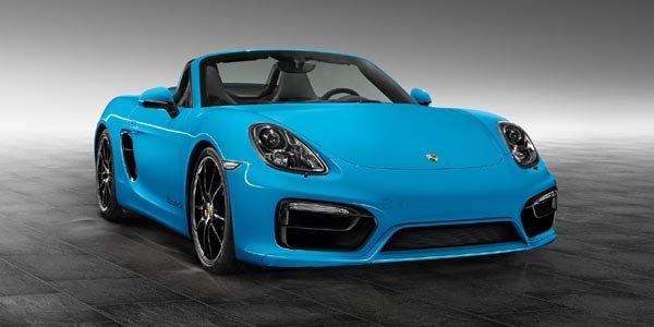 Boxster S Riviera Blue par Porsche Exclusive