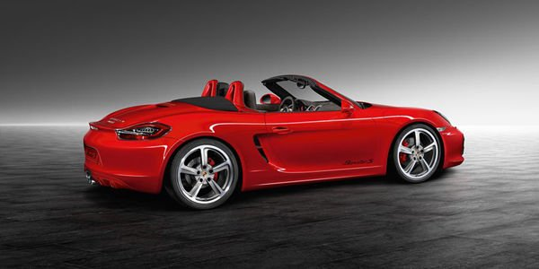 Boxster S Guards Red par Porsche Exclusive
