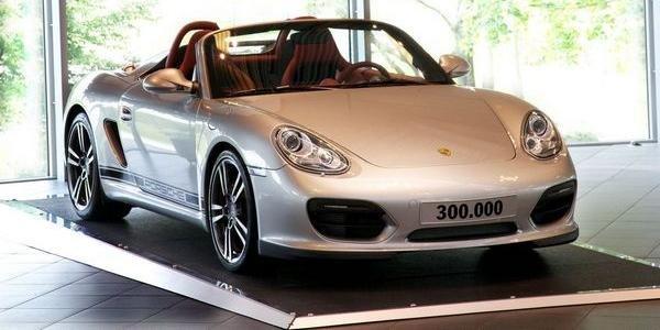 300 000 Porsche Boxster et Cayman