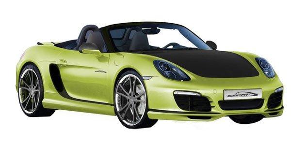 Le Porsche Boxster selon Speedart