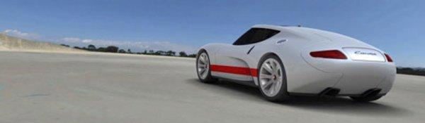 La Carma : une Porsche aérodynamique