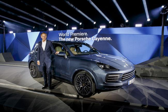 Francfort 2017 : nouveau Porsche Cayenne
