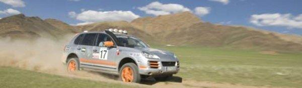 Porsche domine le Transsyberia Rally
