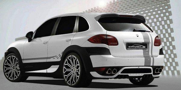Porsche Cayenne signée SpeedART
