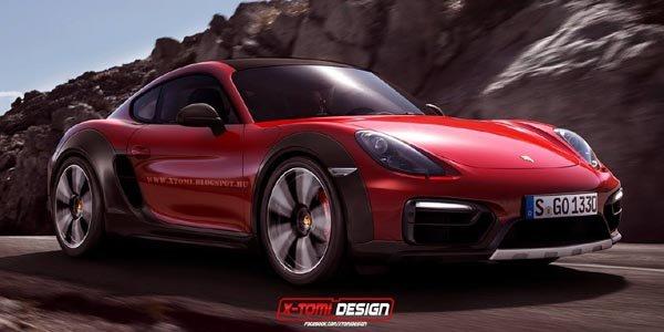 Porsche Cayman Safari par X-Tomi Design