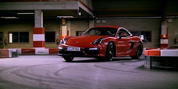 Le Porsche Cayman GTS en mode Karting