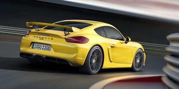 Porsche lève le voile sur son Cayman GT4