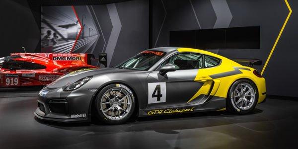 Porsche Cayman GT4 Clubsport : pour le circuit