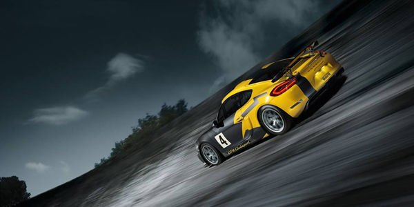 Le Porsche Cayman GT4 Clubsport entre en piste