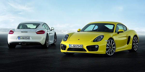 Officiel : Porsche Cayman type 981