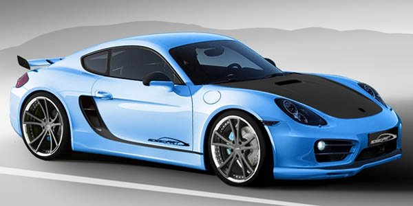 SpeeArt virilise le Porsche Cayman