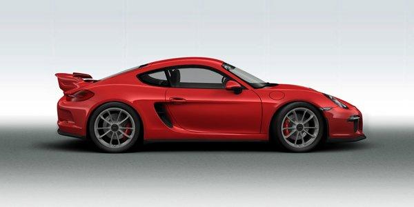 Fantasme : Porsche Cayman GT3