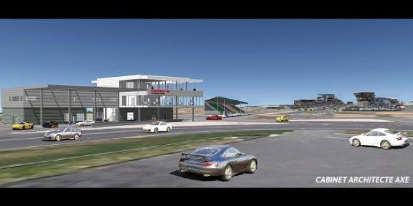 Un Porsche Experience Center au Mans