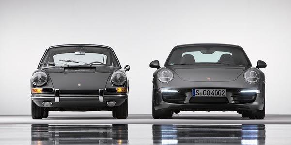 Porsche fête les 50 ans de la 911