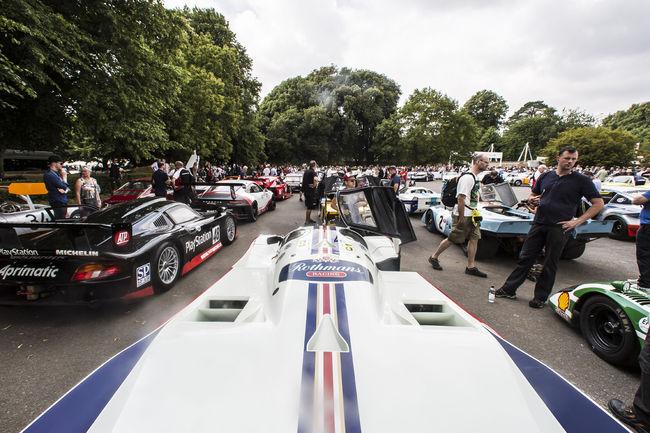 Porsche a fêté ses 70 ans à Goodwood