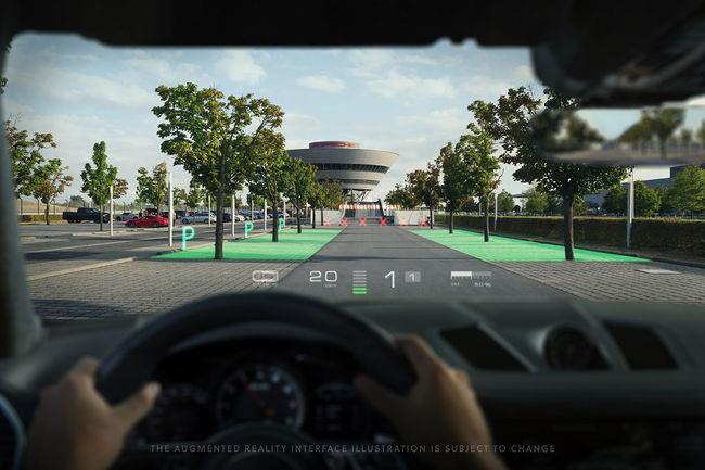 Porsche investit dans la réalité augmentée avec WayRay