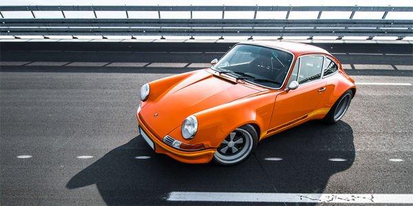 La Porsche Lightspeed Classic en action