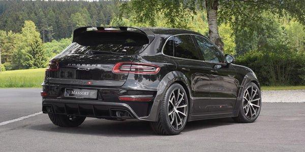 Mansory booste le Porsche Macan