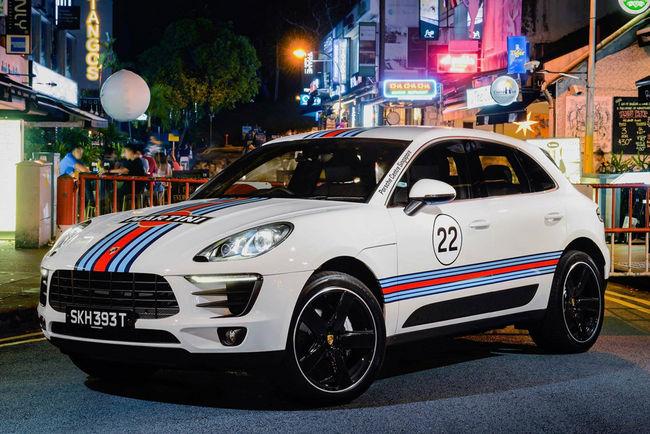 Livrées de légende pour le Porsche Macan
