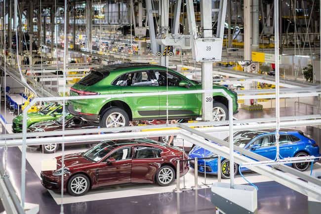Production lancée pour le nouveau Porsche Macan