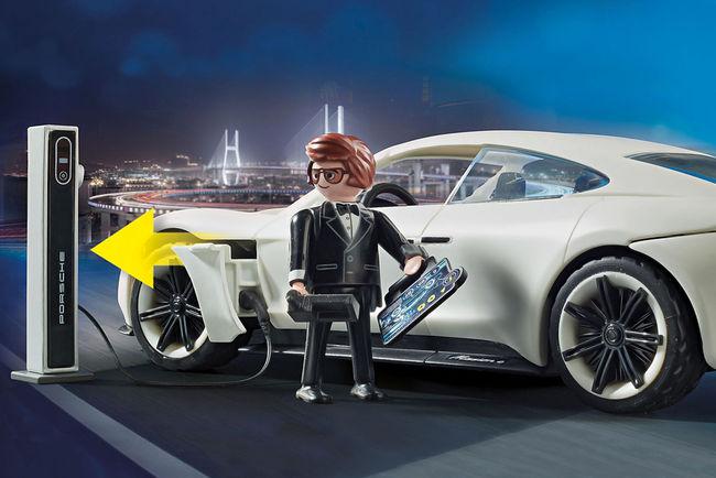 La Porsche Mission E arrive chez Playmobil