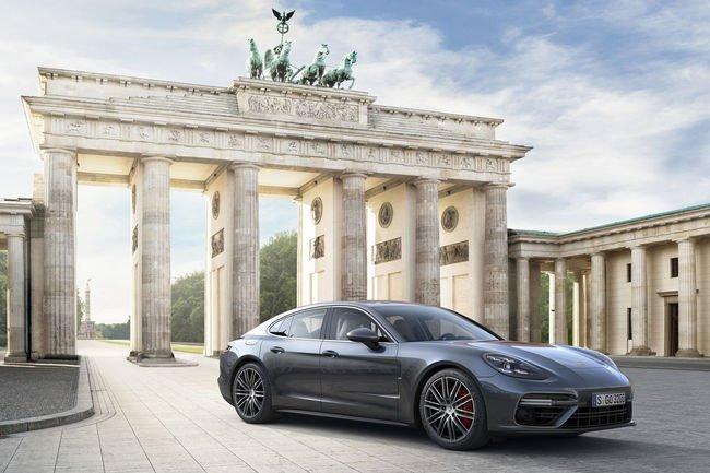 La nouvelle Porsche Panamera présentée à Berlin