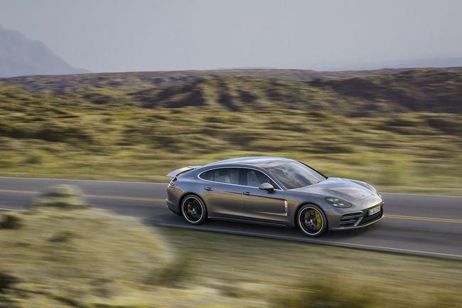 Un V6 turbo pour la nouvelle Porsche Panamera