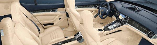 Porsche Panamera : l'intérieur dévoilé