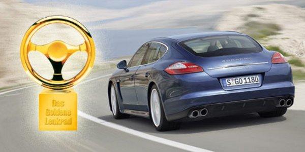 La Porsche Panamera gagne le volant d'or