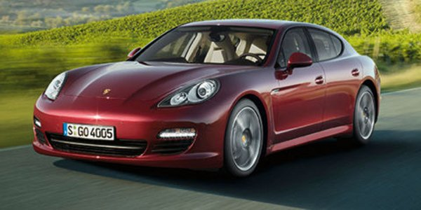 Porsche Panamera 2011 : menus ajustements