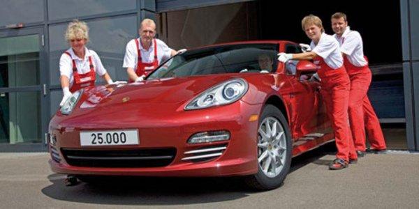 25000ème Porsche Panamera produite