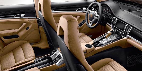 Porsche Panamera Platinium : exclusive