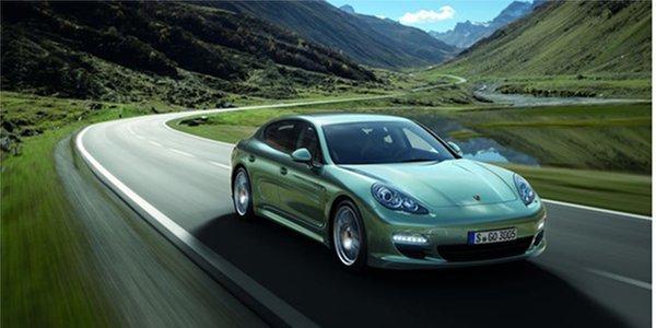 Nouvelle Porsche Panamera Diesel