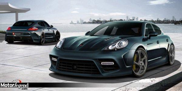 Porsche Panamera by Mansory