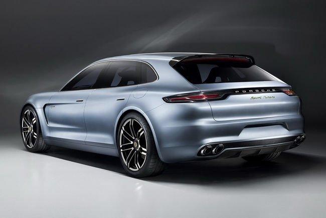 La Porsche Panamera Sport Turismo attendue à Paris